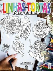 Linhas Tortas para Colorir